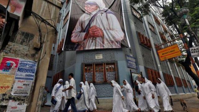 Monjas de la orden en Calcuta