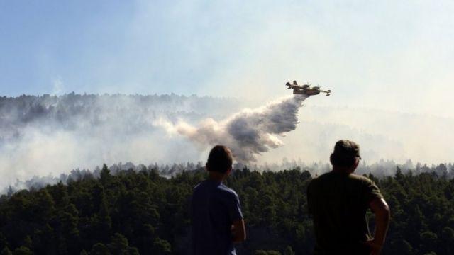 希臘飛機滅火