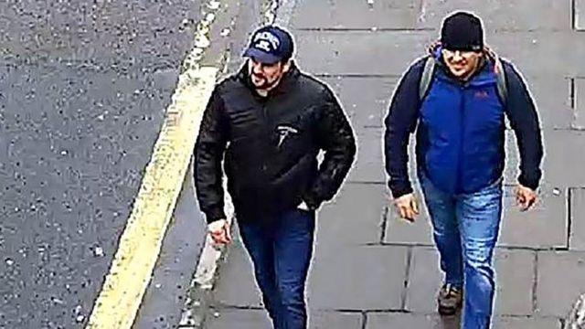 警察は、セルゲイ・スクリパリ氏への攻撃があった日にソールズベリーの監視カメラで撮影された画像を公表した