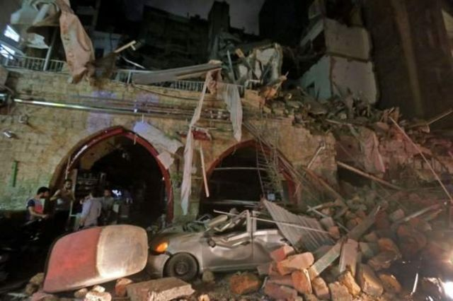 lebanon explosion today