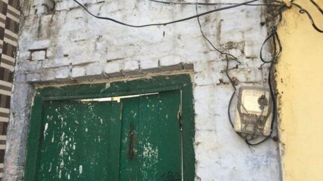अमरोहा में सुहैल का पुश्तैनी मकान