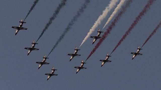 طائرات حربية مصرية
