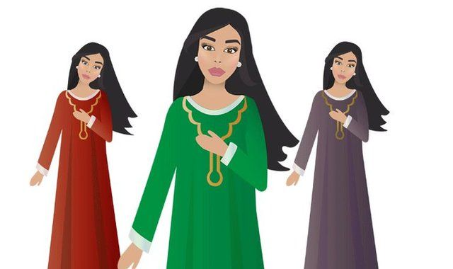 Hair tossing is a feature of traditional dance for some Arab women