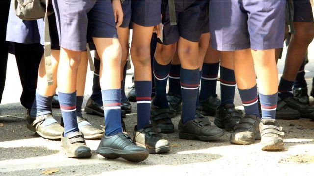 কেরালায় স্কুল শিশু