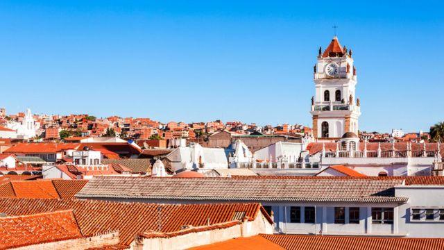 Сукре - один из самых безопасных боливийских городов