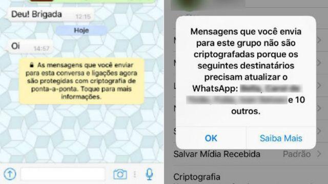 Reprodução WhatsApp
