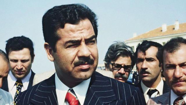 侯赛因任伊拉克国防部长时期