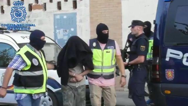 Cardiff man held in Spain over 'terror supply plot'