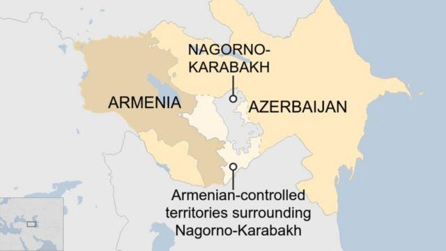 Trong bốn thập niên, hai nước đã vướng vào một cuộc xung đột chưa được giải quyết về vùng Nagorno-Karabakh