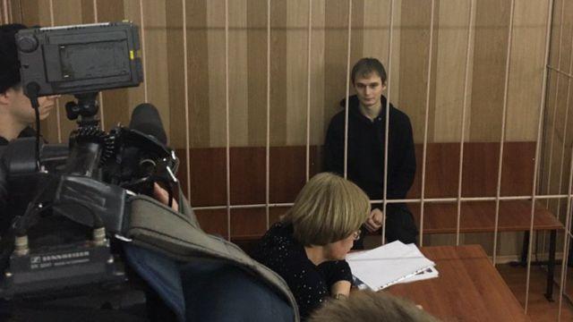 Азат Мифтахов в суде