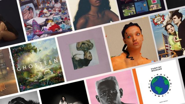 A selection of covers from 2019's top-rated albums