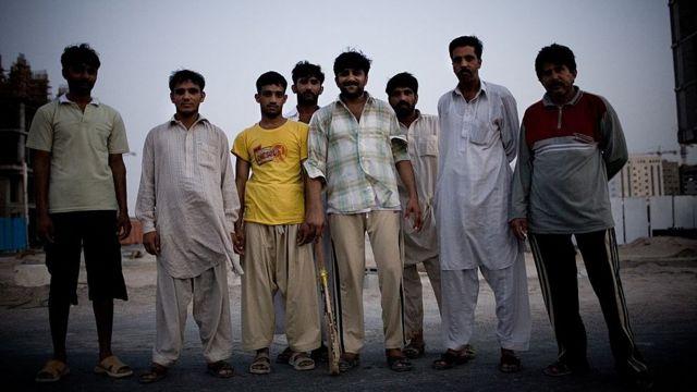 阿布扎比的外国劳工