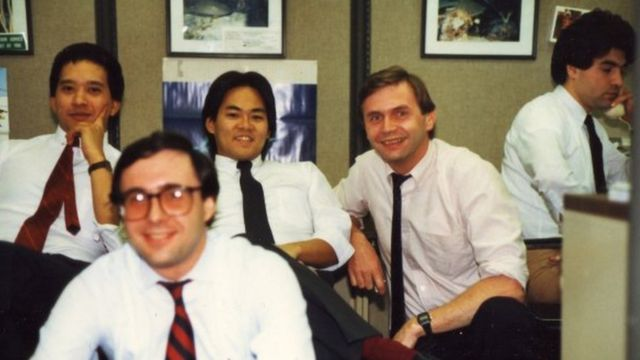 Джек Барски с программистами Met Life