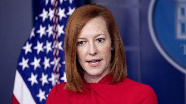 Rueda de prensa de la portavoz de la Casa Blanca, Jen Psaki