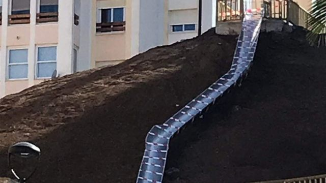 Spanish town closes slide linking streets after injuries