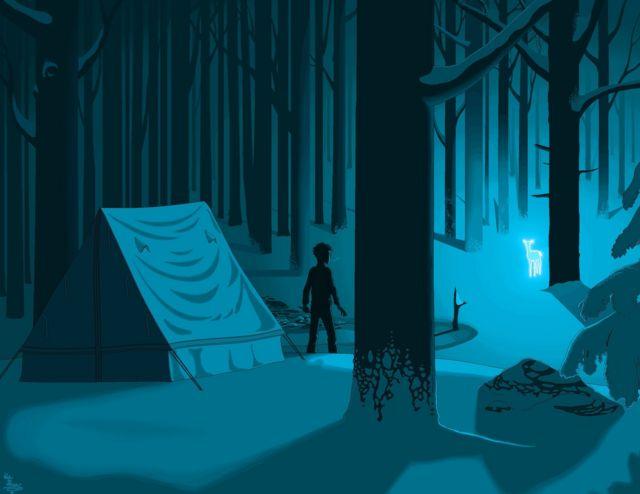 Harry Potter ve Ölüm Yadigarları'ndan bir sahne