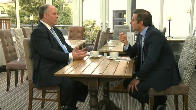 Andrew RT Davies with Nick Servini