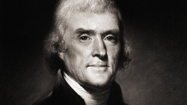 Retrato de Thomas Jefferson