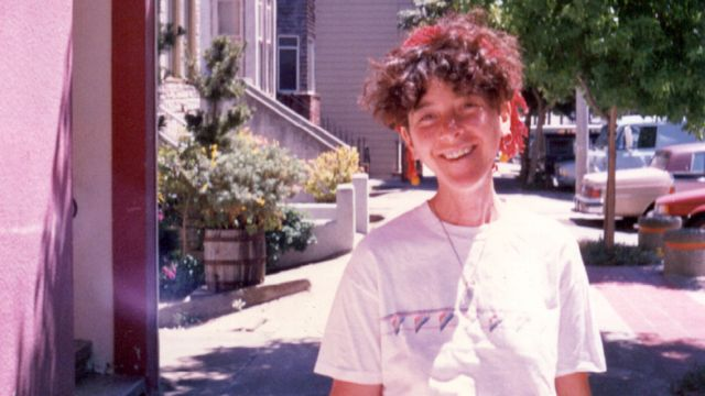 Margo in San Francisco, 1986