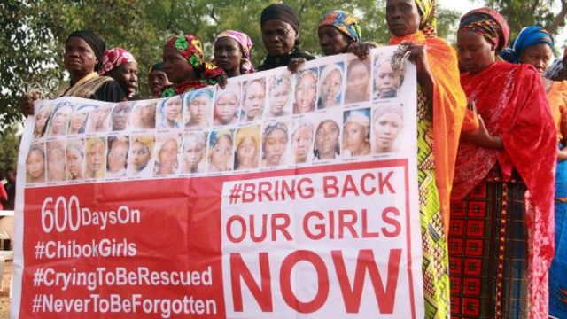 """La campaña """"bring back our girls"""" (devuélvanos a nuestras niñas) tuvo repercusión mundial."""