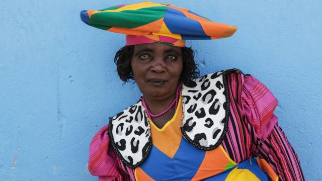 Portrait of a Herero Woman