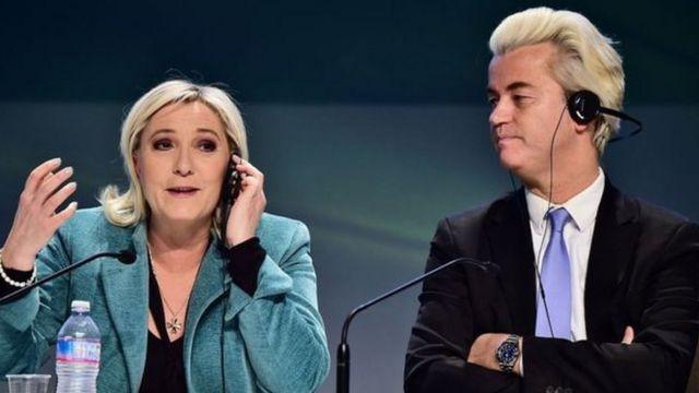 ممکن است در انتخابات بعدی مارین لوپن و خیرت ویلدرز در فرانسه و هلند به قدرت برسند