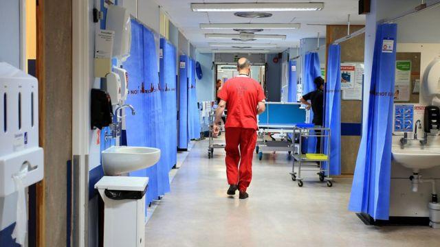 Hospital em Londres