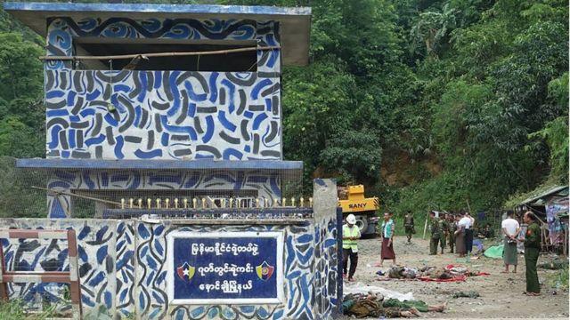 သြဂုတ် ၁၅ ရက်နေ့က ပစ်ခတ်တိုက်ခိုက်ခံခဲ့ရတဲ့ ဂုတ်တွင်းရဲကင်းစခန်း