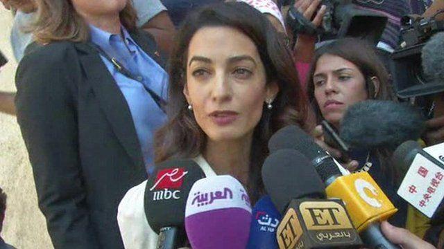 Al-Jazeera trial: Verdict 'sends dangerous message' - Amal Clooney