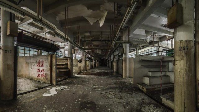 HK URBEX image of an abandoned building