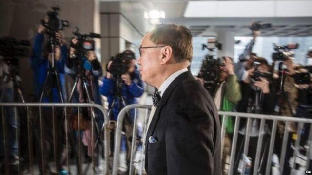 हांगकांग के पूर्व नेता डोनल्ड सांग