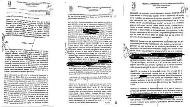 Copia de la sentencia