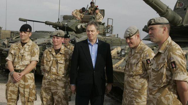 Tony Blair. Foto de archivo: 2005