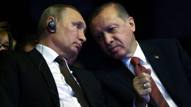 Vladimir Putin və Recep Tayyip Erdoğan