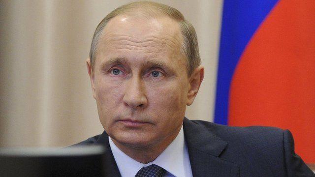 Russian President Vladimir Putin, 20 Nov 15