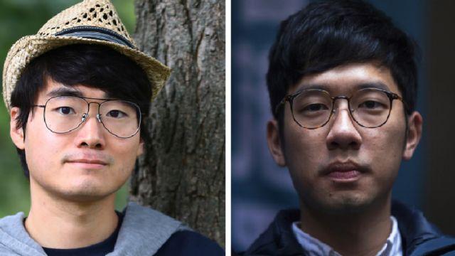 Simon Cheng dan Nathan Law