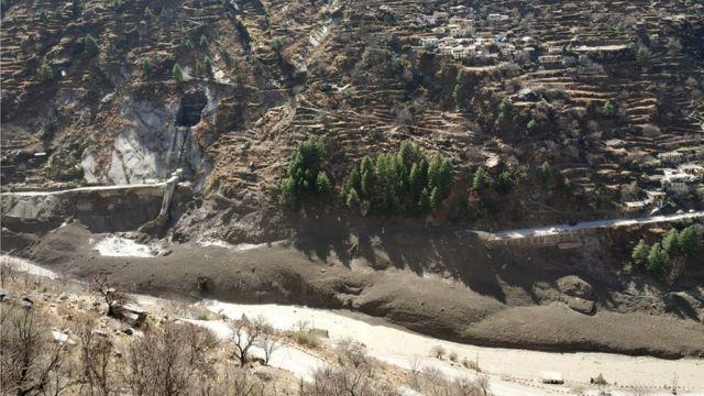 yıkılan baraj