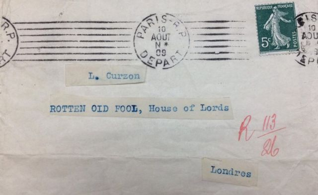 Письмо лорду Курзону