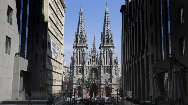 Костел святого Миколая в Києві