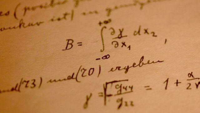 सापेक्षतावाद के सिद्धांत पर आइन्सटीन के नोट्स