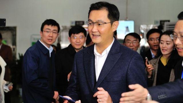 Ma Huateng fundou a Tencent, companhia por trás do WeChat