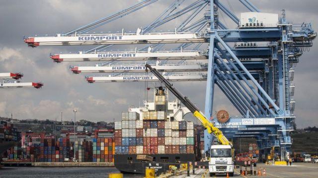 порт Амбарли в Турции
