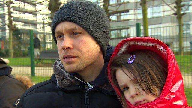 Belgian man and daughter