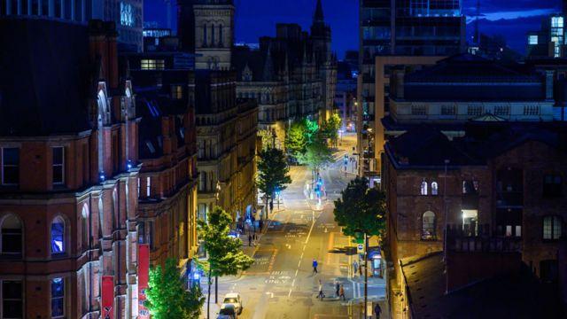 View of Princess Street, Manchester