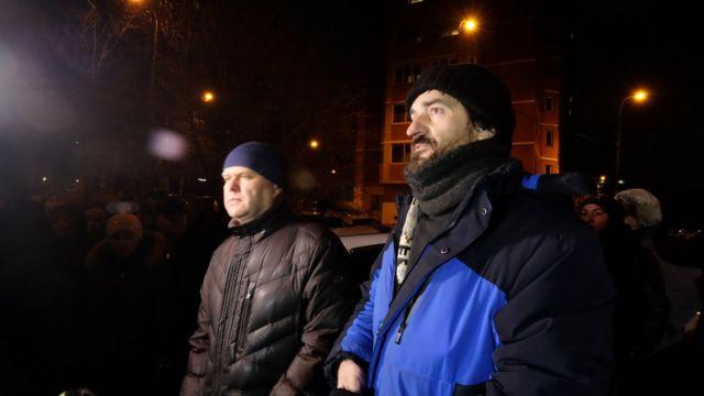 Иван Рожков и Сергей Митрохин
