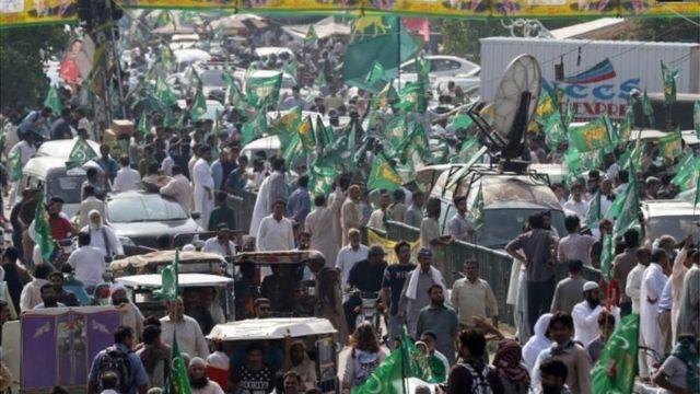 पीएमएल-एन की रैली