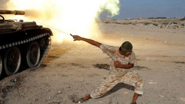 القتال في ليبيا
