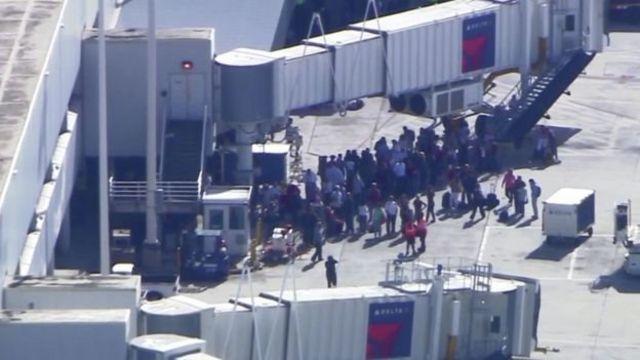 حادث إطلاق نار في مطار أمريكي