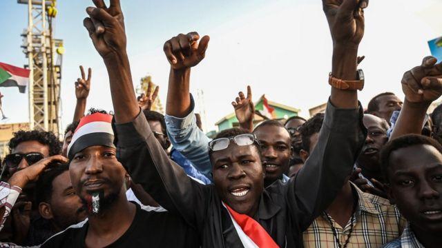 Sudan protester