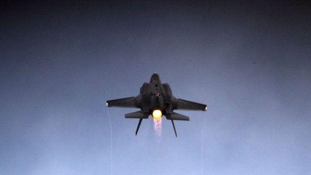 İsrail ordusuna ait bir F-35